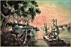Currier & Ives |  The Mississippi in Time of Peace  Art Print
