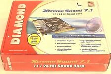 Diamond Xtreme Sound 7.1/ 24 bit Sound Card, NEVER BEEN USED!!!