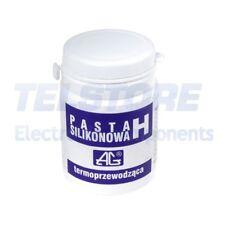 1pcs  Pasta termoconduttiva bianco a base di silicone 100g AG TERMOPASTY