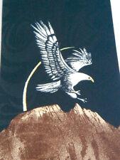 NEW! American Bald Eagle Bird Animals Black Neck Tie Necktie Sleeved Renaissance