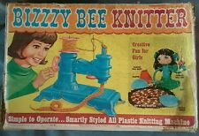 Vintage Bizzzy Bee Knitter Toy 1967 Knitting Machine