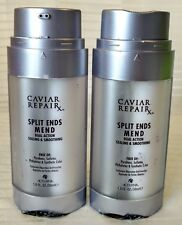 Lot of 2 Alterna Caviar Repair Split Ends Mend Sealing Smoothing 1oz - 30ml each