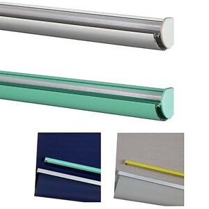 John Lewis Bottom Bars For Roller Blinds Silver Yellow Teal Can Be Cut To Size