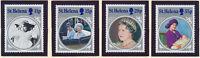 St. Helena Stamp Set Scott #428-31, Mint Never Hinged MNH, Queen Mother SS
