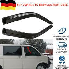 Für VW Caravelle Multivan T5 Windabweiser Regenabweiser 2x satz vorne ab 2003-18