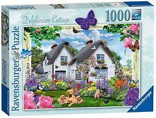 RAVENSBURGER PUZZLE*1000 TEILE*COUNTRY COTTAGE 9*DELPHINIUM COTTAGE*RARITÄT*OVP