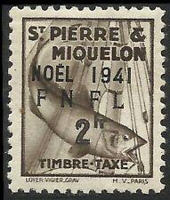 St pierre & Miquelon - Timbre-Taxe - N° 50 Neuf sans charnière.