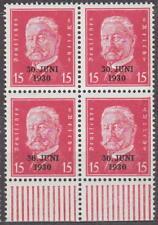 DEUTSCHES REICH 1930 Mi.: 445 Hindenburg 4-BLOK mit UNTERRAND - **postfrisch**