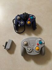Nintendo Gamecube Wavebird Controller with Receiver and Extra Controller working