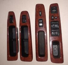 2002 2003 2004 2005 2006 TOYOTA CAMRY WOOD GRAIN WINDOW CONTROL SWITCH SET TRIM
