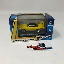'70 Plymouth Superbird * Yellow * Hot Wheels 1:87 Scale/HO * JC12