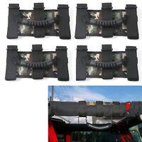 4pcs Top Roll Bar Grab Handles Grip Kit for Jeep Wrangler YJ CJ TJ JK Camouflage