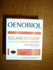 OENOBIOL SOLAIRE INTENTIF capital jeunesse 30 cps