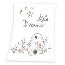 Flauschdecke Disney 101 Dalmatiner 75x100 cm Schmusedecke Babydecke Kuscheldecke