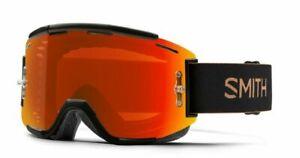 Smith Squad MTB/Bike Goggles (Gravy - ChromaPop Everyday Red + Clear Bonus Lens)