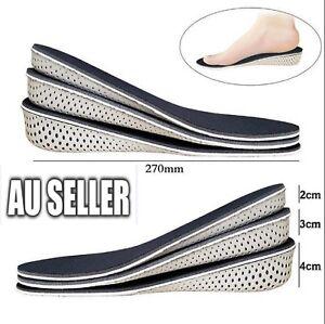 Memory Foam Height Increase Insole EVA Heel Lift Insert Taller Insole Shoe 2021