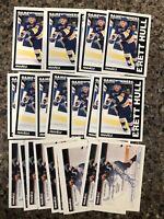 Brett Hull  1991-92 Pinnacle Card Lot (27) St Louis Blues