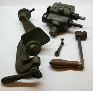 PEXTO Peck Stow & Wilcox 544 975 Bench mount Edger Sheet Metal Vintage Tool