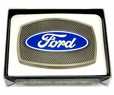 Ford Belt Buckle Car Grille Spec Cast Authentic Officially Licensed Collectible
