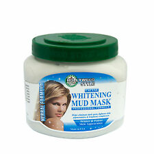 Hollywood Style Facial Whitening Mud Mask - Professional Formula - Large20oz Jar