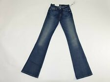 7 For All Mankind Womens Karah Form Fitted Boot Cut Jeans Size 23 x 33 NWT Seven