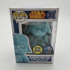 FUNKO POP Star wars Darth Vader 33# Luminous Glows in the Dark Action Figure Toy