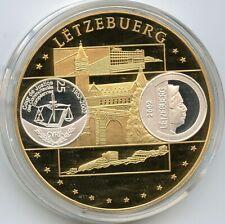 Luxembourg / Letzebuerg - medaille 2002 - Court de Justice