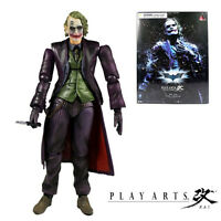 "PLAY ARTS KAI SQUARE ENIX 10"" NO.4 JOKER THE DARK KNIGHT ACTION FIGURE MODEL TOY"