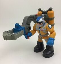 "Cliff Hanger Grabber Claw Tool Fisher Price Rescue Heroes 6"" Action Figure B1"