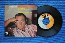 CHARLES AZNAVOUR / EP BARCLAY 70703 / VERSO 1  LABEL 2 / BIEM 1964 ( F )