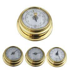 4Pcs Barometer Clock Tool Boat Portable Accessories Meter Marine Thermometer