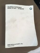 VINTAGE BMW AUXILIARY CATALOGUE R100-R100RT GOOD SHAPE