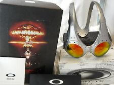 Rare Oakley OVER THE TOP, FMJ 5.56, Fire Iridium/X METAL romeo mars Ott Juliet