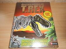 coffret ENORMISSIME T-REX livre + maquette dinosaure 1 mètre - sous blister