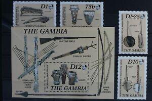 Südafrika Block 31 mit 667 und 663-666 ** postfrisch Musikinstrumente #WW199