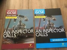 An Inspector Calls: York Notes for GCSE (9-1) Workbook And Study Guide