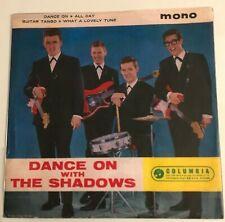 "The Shadows - ""Dance On With The Shadows""  7"" EP (1963) SEG 8233 (Columbia) POP2"
