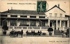 CPA   Givors (Rhone) - Restaurant Villard á Bans   (451065)