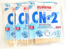 3- 3 Packs Authentic Eureka CN-2 Vacuum Bags  #61990A *Fits 6830 Canister Vacuum