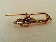 AH-1 Super Cobra US Marine Corps Bell Helicopter Pin / Gold Color / NEW Tie Hat