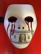 Classic J-Dog Hollywood Undead style mask, halloween design custom replica
