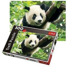 Trefl 500 Piece Adult Large Floor Giant Panda Tree Climbing Jigsaw Puzzle NEW