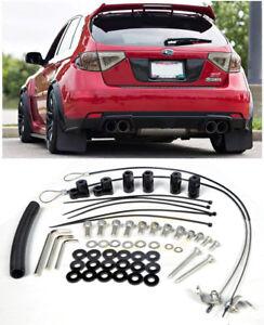 For 08-14 Subaru WRX / STi Hatchback JDM Rear Roof Wing Spoiler Riser Extension