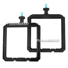 "2 X FOTGA 4X4"" Lens Filter Holders Filter Trays For DP3000 Mattebox Matte box"