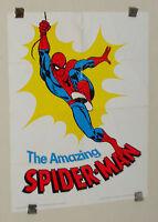 1975 Romita Spider-man Hudson Vitamins Marvel Comics poster 1:1970's Marvelmania