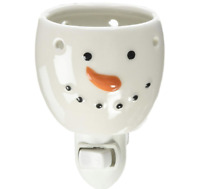 Snowman Wax Melt Warmer Christmas Holiday Plug In Home Fragrance Accessory NEW