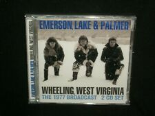 Emerson, Lake & Palmer - Wheeling, West Virginia 2-CD SEALED '77 broadcast