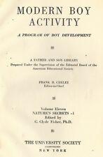 Modern Boy Activity . Series for Boy Development 1923 . Volume 9 Woodcraft