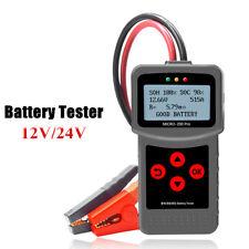 Car Battery Tester Analyzer 12V 12V Automotive Detect Health Faults for Battery