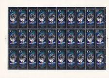 Russia  1988 - 10 Kon International Space Station #5686 Complete Mint Sheet NH